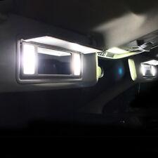 4 ampoules à LED éclairage blanc miroirs de courtoisie Alfa Romeo 147 156 159