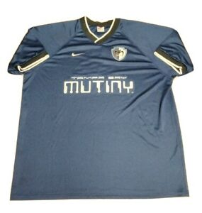 VTG 90s MLS Tampa Bay Mutiny Soccer jersey Size XL See details