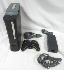 Microsoft Xbox 360 Arcade Black System Complete Bundle Video Game Console 20GB