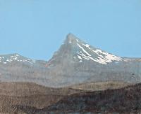 """""""Mt. Thielsen"""" Original Acrylic Painting Central Oregon Cascade Mountains"""
