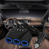 Lighter New Splitter Usb Multi Way Cigarette Auto Car 12v Outlet Charger Socket