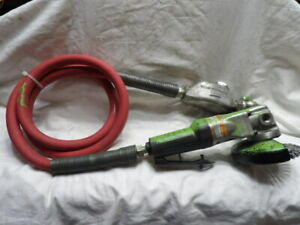 "Ingersoll Rand Model 3445 4"" Angle Grinder with Hose, Oiler and Wire Brush"