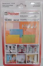 Preiser 16360 - H0 FIGURINES 1:87 - AM fenêtre, 6 figurines non-peintes -