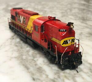 Broadway Limited HO AWVR Custom Paint RSD15 Diesel Locomotive Unstoppable Movie
