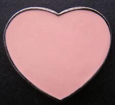 PINK HEART COOL 70's HIP HOP GIRL WOMEN'S BELT BUCKLE BOUCLE DE CEINTURES