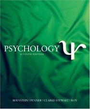 Psychology by Bernstein, Penner, Clarke-Stewart & Roy, 7th Edition (Hardcover)
