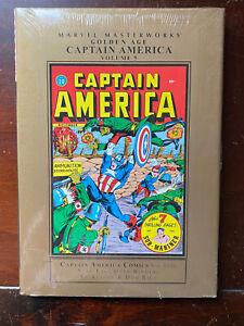 Marvel Masterworks Golden Age CAPTAIN AMERICA Vol. 5 Nos 17-20 - HC SEALED