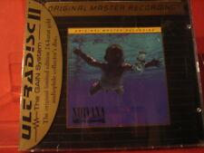 "MFSL-UDCD 666 NIRVANA "" NEVERMIND "" (MFSL-24KARAT-GOLD-CD/USA/FACTORY SEALED)"