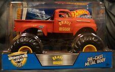 Hot Wheels Monster Jam Grave Digger Flashback (Red) 1/24 Scale 2016 Mattel