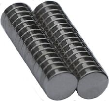 8 mm x 2 mm Disc - Neodymium Rare Earth Magnet, Grade N48