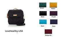 Samantha Brown Microfiber Crossbody Bag /Purse  PICK A COLOR - BRAND NEW!