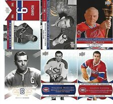2008-09 MONTREAL CANADIENS CENTENNIAL 100th SP 201-300 SEE LIST