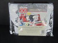 New Vintage Disney 101 Dalmations Pillow Sham 1994 Puppy Case Spots Bed Dacron