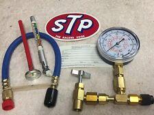 Enviro-Safe Recharge Kit, Taper, Gauge, Hose, Thermometer, Psi gauge, STP & ES