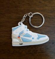 Jordan 1 Retro Off White White Shoe/Sneaker Keychain