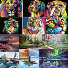 DIY Oil Painting Kit Paint By Numbers for Adult Child Beginners Frameless Gift