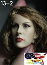 "1/6 female head Kumik KM13-2 beautiful girl for 12"" figure hot toys ❶USA❶"