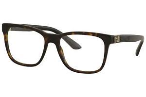 Versace Men's Eyeglasses VE/3243 VE3243 108 Dark Havana Optical Frame 55mm