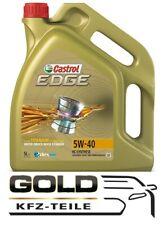 5W 40 Castrol Edge 5 Liter Motoröl 5w-40 Castrol VW MB Renault Ford titanium fst