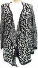 Crossroads stretchy  Long Fluffy SOFT KNIT cardi cardigan Jumper XXL 20 22 NEW