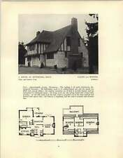 1926 House At Sevenoaks Culpin And Bowers Stanmore Douglas Wood