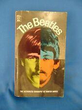 Book The Beatles authorized biography Hunter Davies Fab Four photos stories Rock
