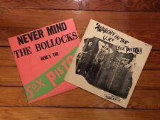 Sex Pistols - Nevermind The Bollocks Sub-Mission M/print + Anarchy...UK Vinyl