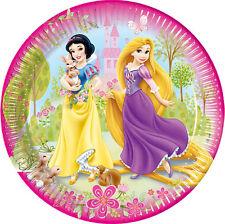 Disney Prinzessinnen 8 Stck Pappteller 23cm Ø Kindergeburtstag Partygeschirr