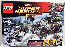 LEGO Marvel Super Heroes SET~ 76030 Thor~ Avengers Hydra Showdown~HAWKEYE~ New