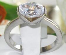 Diamond Oval Costume Rings