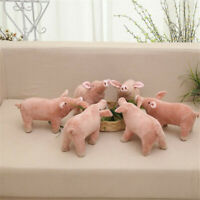 Plush Toy Piggy Pig Cartoon Accompany Sleeping Stuffed Animal Soft Pink Toy Gift