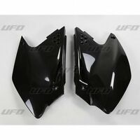 UFO Kawasaki Motocross MX Side Panels KXF 250 2006 - 2008 Black