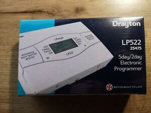Drayton-LP522 5/2 Day Heating and Hot Water Programmer Channel - BRAND NEW
