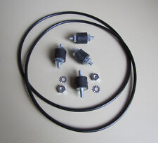 Wurlitzer 3800, 3810, 3860  Turntable Motor Mount  & Belt Set