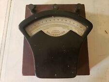 Antique Dc Milliammeter Test Equipment Guage