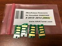 4 x New firmware Toner Chip (3915 - 3914) Refill for Xerox VersaLink C600 C605