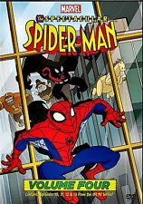 NEW DVD // THE SPECTACULAR SPIDERMAN - VOL 4 - 4EPISODES - ENG & FRENCH - 91min