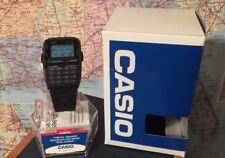 NOS Vtg CASIO Casual Telememo 30 Data Bank Illuminator Light Wrist Watch