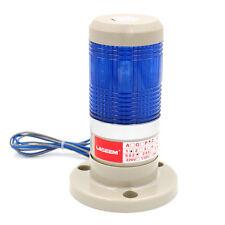 Alarm Warning Lamp Light Industrial LED Signal Tower Blue 110V