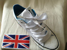 """1"""" fantastic satin ribbon laces high & low tops,boots or other type footwear ."""