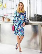 Impresión Digital Label ser para Mujer Bodycon Cambio Vestido Talla 16 BNWT RRP £ 33.50 Multi