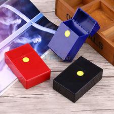 Etui à Cigarettes en Plastique Dur Boîte à Cigares Tabac Stockage Pour 20 Cigare