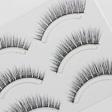 3 Pairs False Eyelashes Lengthen Mink Hair Style Natural Lifelike Fake Eyelash