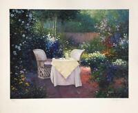 "Sergon, ""Garden Pleasures"", Ltd. Ed. hand signed serigraph"