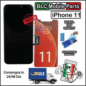 DISPLAY LCD APPLE IPHONE 11 TOUCH SCREEN SCHERMO INCELL ORIGINALE TIANMA OLED