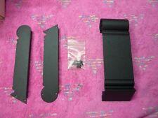 PRECISION POWER PPI BLACK ART LINK+SIDE PLATES, NO MARKINGS, CUSTOM, NOS!!!