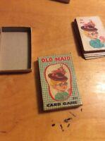 Vintage Old Maid Fairchild USA Card Game W2