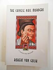 THE CHINESE NAIL MURDERS BY ROBERT VAN GULIK (PAPERBACK, 1977) CHICAGO PRESS ED.