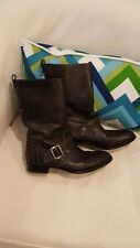 Tod's Moto boot 8.5 or 39