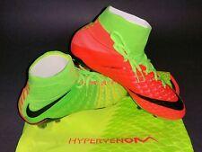 Nike Hypervenom Phantom III DF FG, Green/Orange, Size 10